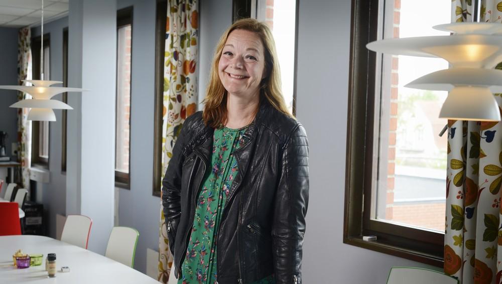 Stina Lundquist, socialchef vid Simrishamn kommun. Foto: Peter Carlsson
