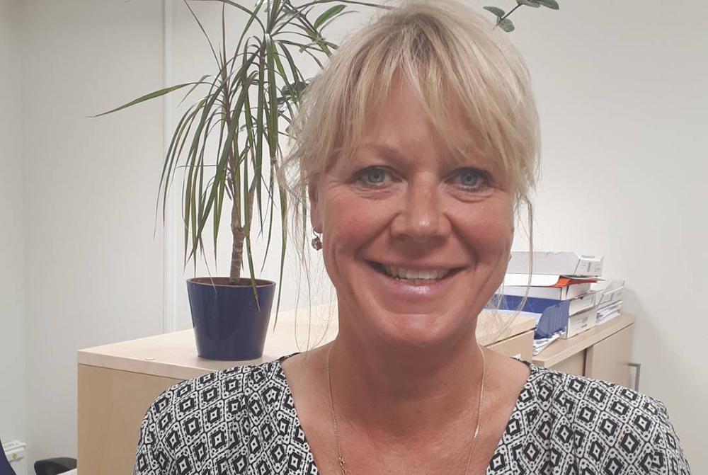 Anna Flink, chef för försörjningsstöd inom socialtjänsten i Södertälje kommun.
