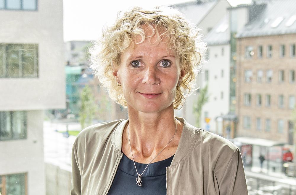 Camilla Blomqvist, stadsdelsdirektör på Norra Hisingen i Göteborgs stad. Foto: Peter Svensson