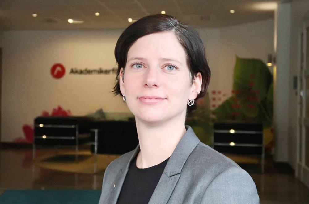 Josefine Johansson, professionsstrateg på Akademikerförbundet SSR. Foto: Theresia Viska