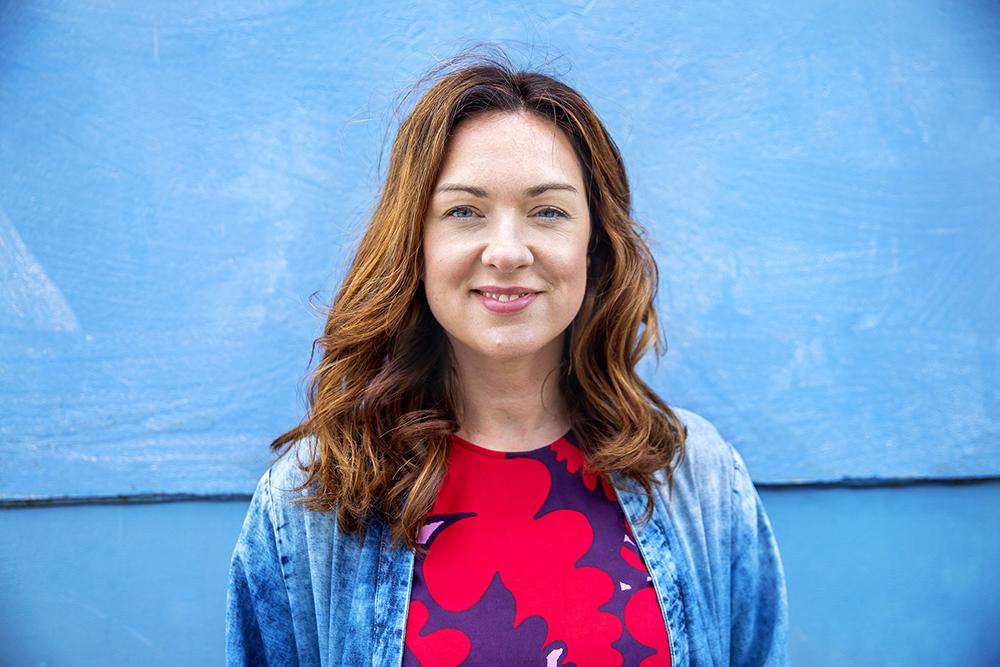 Veronica Magnusson, ordförande Vision. Foto: Gustav Gräll