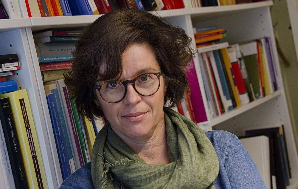 Pernilla Leviner, professor i offentlig rätt och föreståndare för Barnrättscentrum vid Stockholms universitet.