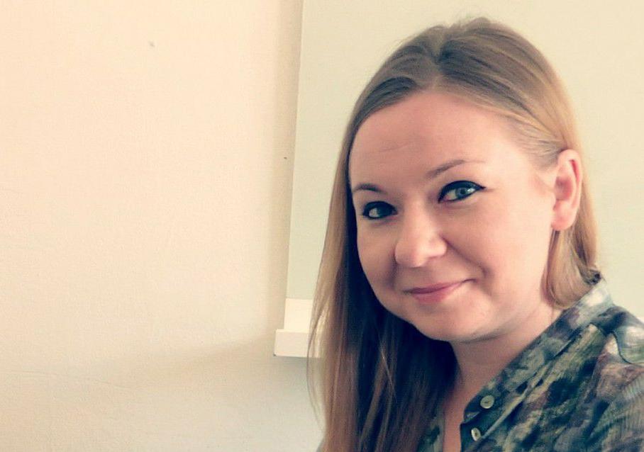 Olga Zakrjevskaia, vd på bemanningsföretaget Socionomkraft.