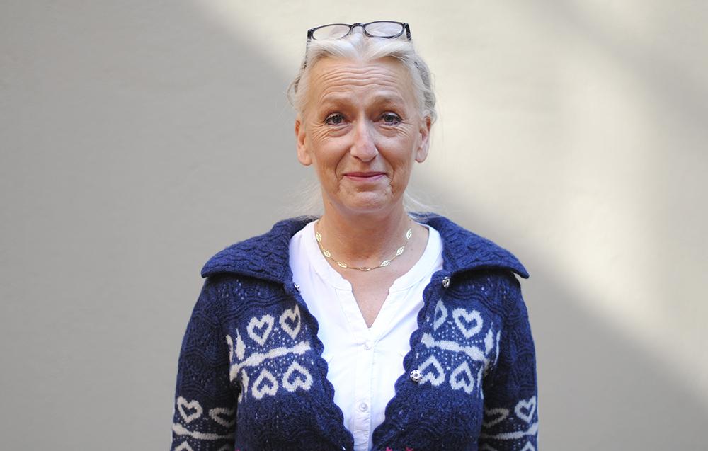 Catarina Berndtsson, chef för skyddade boenden på Göteborgs Stadsmission.