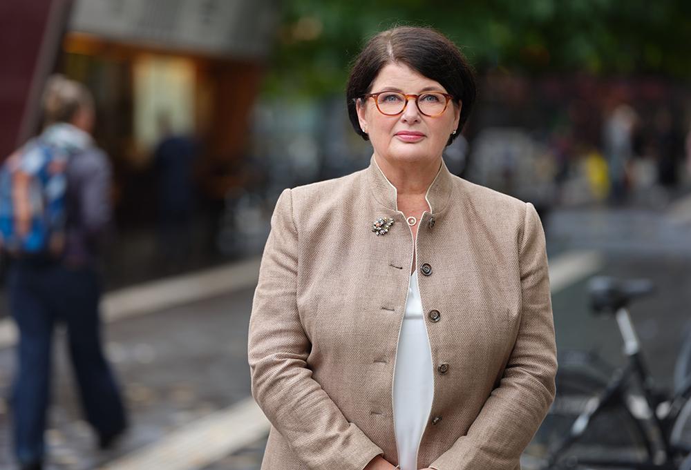 Heike Erkers, förbundsordförande för Akademikerförbundet SSR. Foto: Magnus Länje
